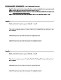 Topic Brainstorming Sheet (Persuasive/Research Essay, Part 1)