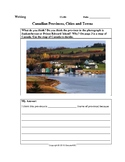 Topic: Canadian Provinces, Cities and Towns-Writing Activity & Answer Key: CLB 6