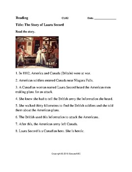 Topic: Famous Canadians - Four Activities for the LINC / ESL Class : CLB 2