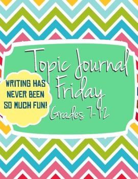 Topic Journal Fridays