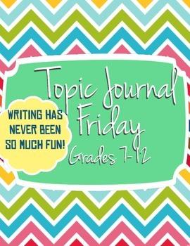 Topic Journal Fridays