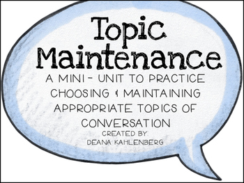 Topic Maintenance