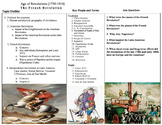 Topic Outline Sheets: World History detailed guide for 10 unit plans!! Part 2