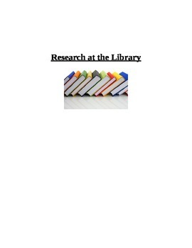 Topic Research at the library {autism, special education}