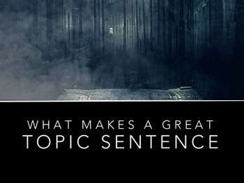 Topic Sentence Review + Examples Powerpoint