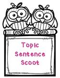Topic Sentence Scoot