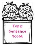 Topic Sentence Scoot Sample Freebie