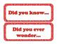 Topic Sentence Starters for Bulletin Board (Western Theme)