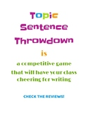 Topic Sentence Throwdown