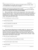 Topic Sentence and Details