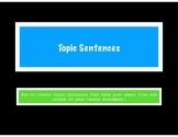 Topic Sentences Guide