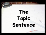 Topic Sentences - a formula: with methods and oomph!