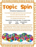 Topic Spin - Creative Writing Center - Small Group Activity
