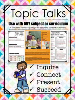 Topic Talks: Inquiry-Based Projects and Presentations