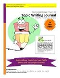 Topic Writing Journal