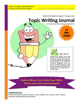 Topic Writing Journal