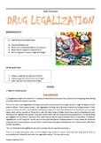Topic discussion - Drug Legalization