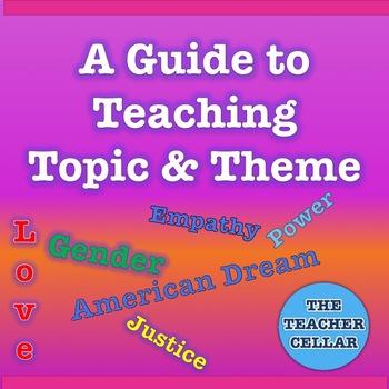 Topic vs Theme (Teaching Theme)
