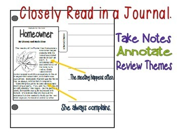 (Topical Passages: Irony) Literature Passages for Interactive Journals