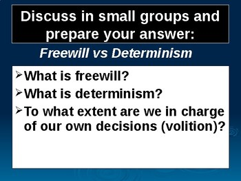 Topics@Psychology 4: A Problem with the Concept of Freewill