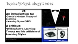 Topics@Psychology #8: An introduction to Growth Mindset an