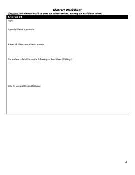 Topics in History Summative Project