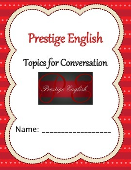 Topics of Conversation - English Speaking