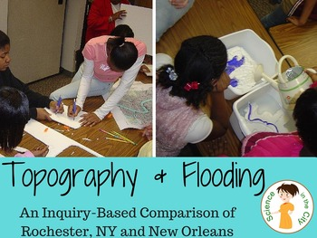 Topographic Map Game.Topographic Map Inquiry By Science In The City Tpt