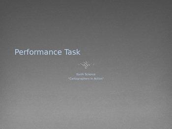 Topo Map/Profile Performance Task PowerPoint