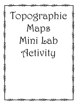 Topographic Map Assignment