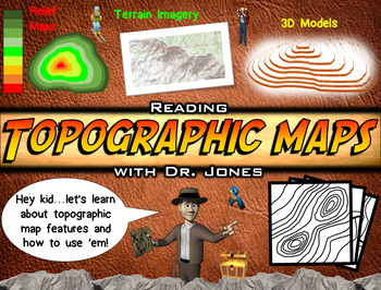 Topographic Map Games.Topographic Maps Powerpoint Fully Loaded By Ace Up Your Sleeve