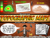 Topographic Maps PowerPoint: FULLY LOADED!