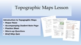 Topographic Mapping - Lesson and Practice