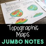 Topographic Maps JUMBO Notes