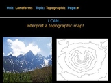 Topographic Maps Lesson PPT