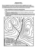 Topographic Maps Performance Task (Extra Scaffolding) - (Citing Evidence, Claim)