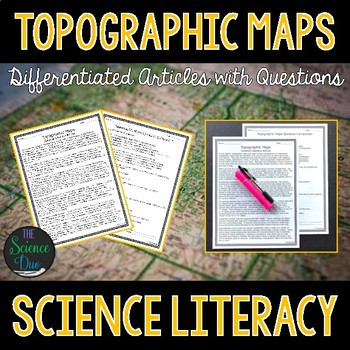 Topographic Maps - Science Literacy Article