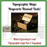 Topographic Maps Skills - Using Hogwarts Map!