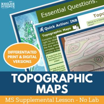 Topographic Maps - Supplemental Lesson - No Lab