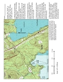 Topographical Navigation / Triangulation Worksheet Activity