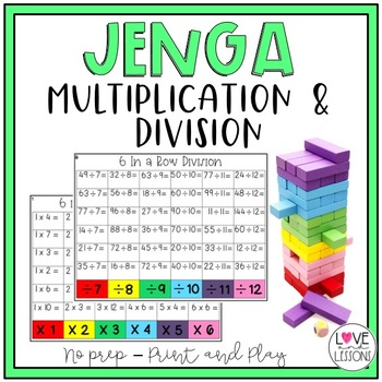 Topple Blocks Multiplication and Division