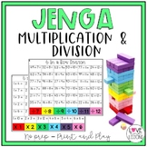 Jenga Multiplication and Division
