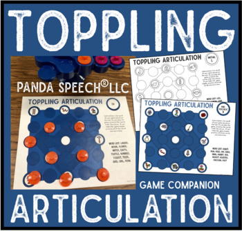 Toppling Articulation A Speech Therapy Game Companion