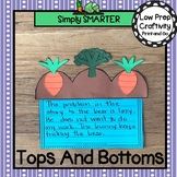 Tops And Bottoms Book Companion Write About Reading Cut and Paste Craftivity