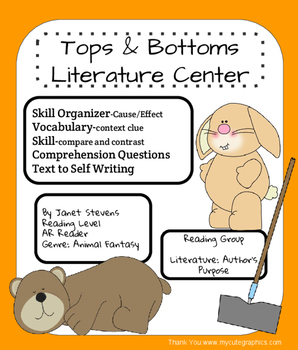 Tops & Bottoms- Literature Center