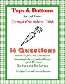 Tops & Bottoms Test-  FSA Format