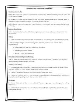 Tops & Bottoms Unit Study