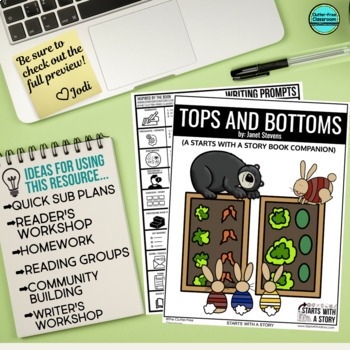 Tops and Bottoms Activities and Read Aloud Lessons