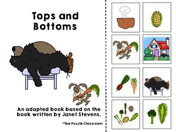 Tops and Bottoms Adapted Book