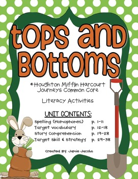 Tops and Bottoms (Journeys Supplemental Materials)